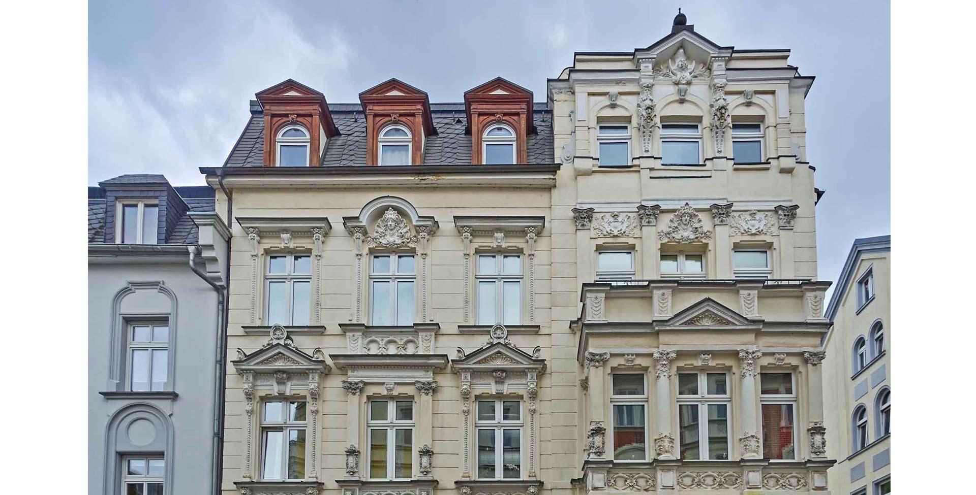 Fassade und Außenseite